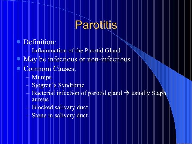 Symptoms Of Parotid Gland Stone Salivary Gland Stones