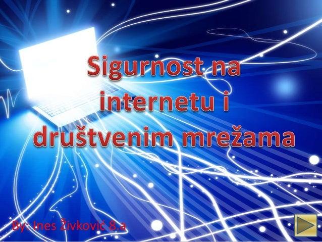 266 Sigurnost na Internetu i društvenim mrežama
