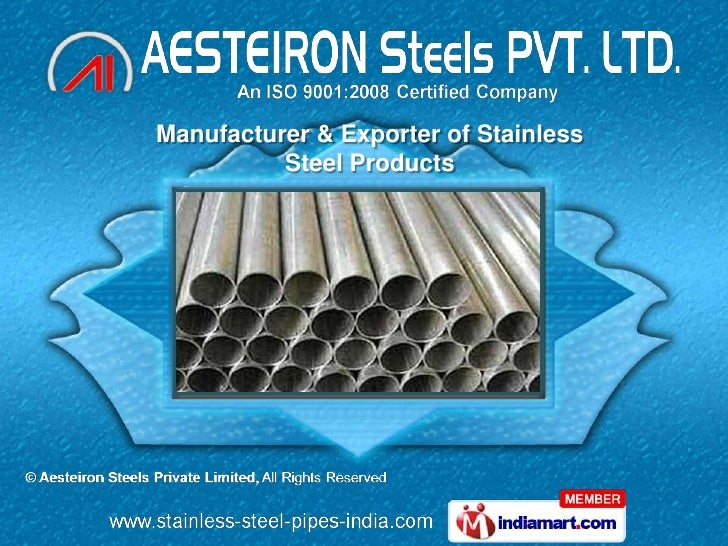 Manufacturer & Exporter of Stainless          Steel Products