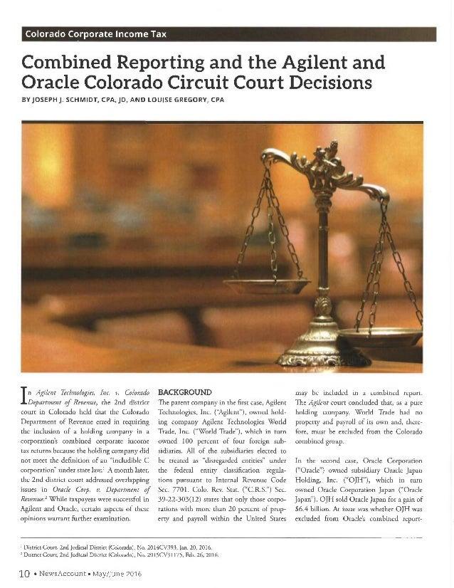 COLORADO_DECISIONS_ORACLE_AGILENT