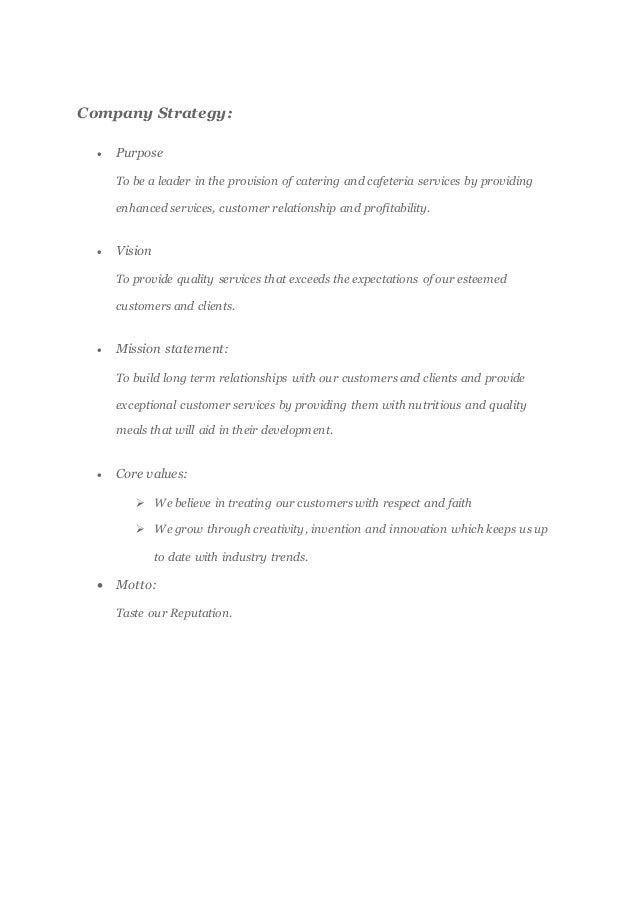 How to write a catering business proposal