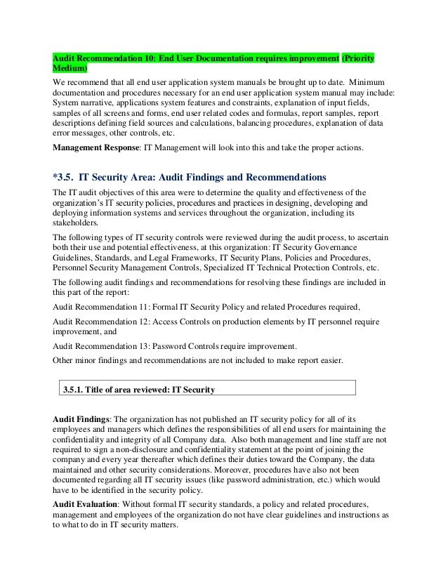 Standard Audit Report Format Pictures To Pin On Pinterest