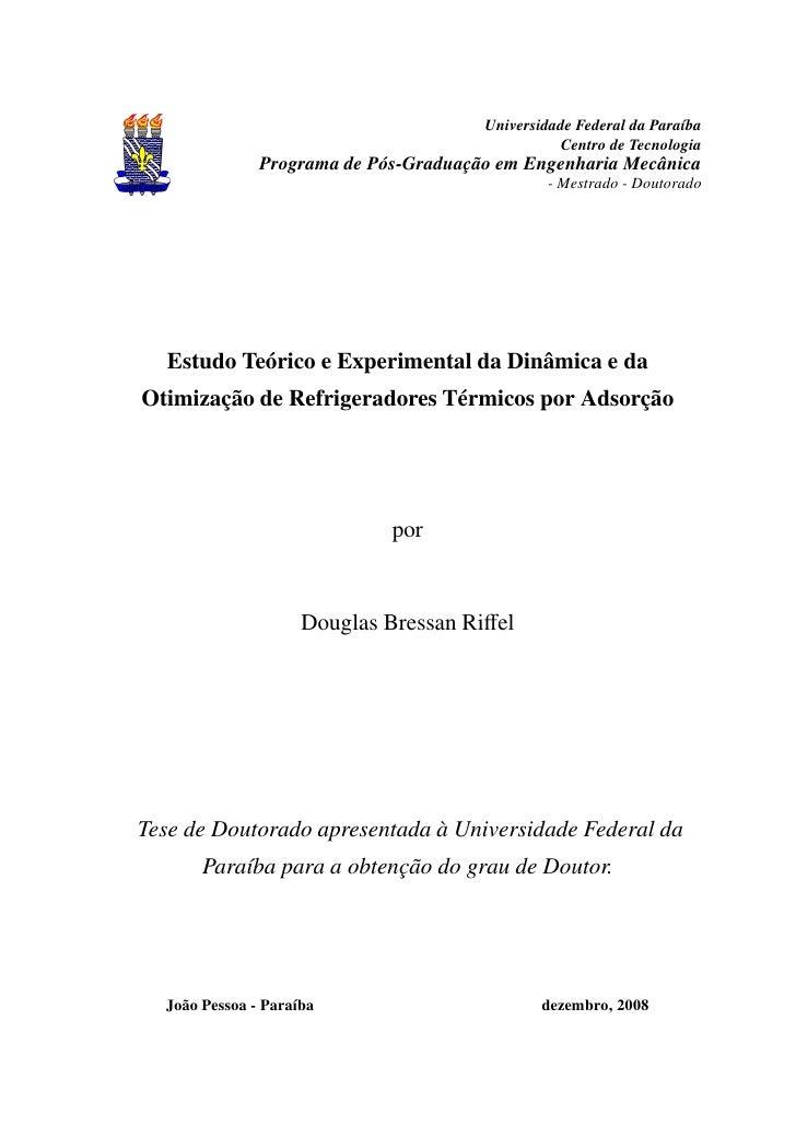 Universidade Federal da Paraíba                                                  Centro de Tecnologia                Progr...