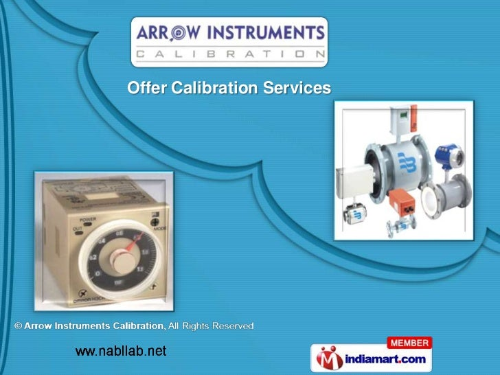 Arrow Instruments Calibration Tamil Nadu India