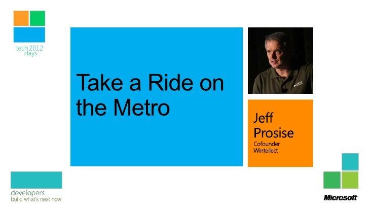 Take a Ride on the Metro