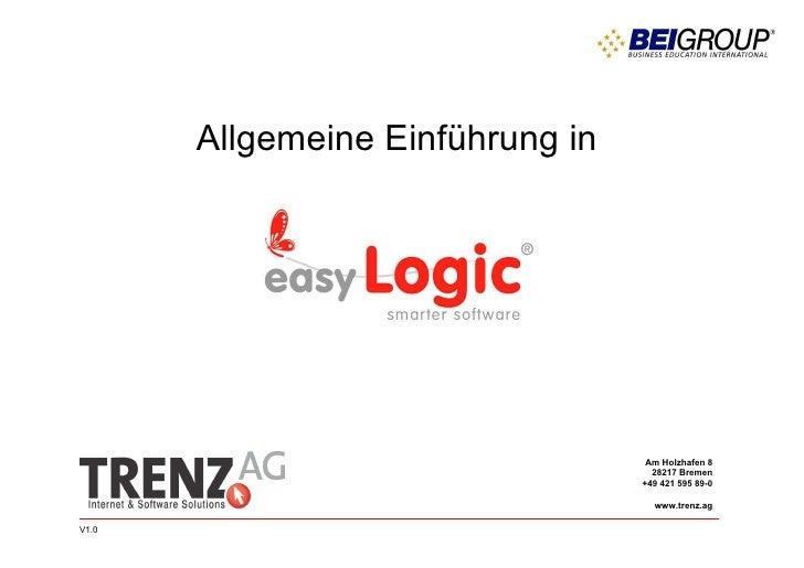 ALLGEMEINE EINFÜHRUNG  Version 1.0