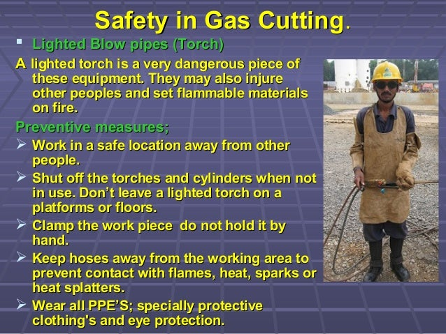 Safety In Gas Cutting