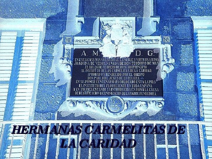 HERMANAS CARMELITAS DE LA CARIDAD