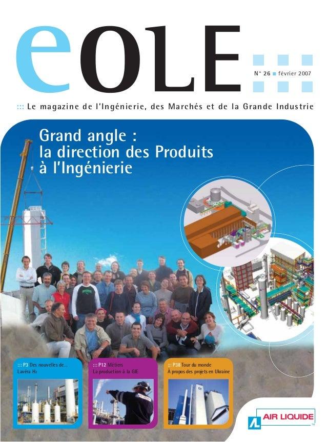 ::: Le magazine de l'Ingénierie, des Marchés et de la Grande Industrie                                                    ...