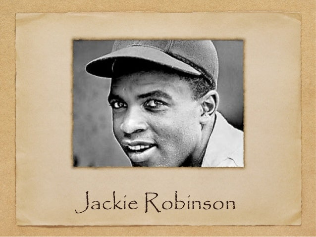 Jackie robinson essays