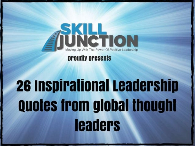 thought leadership Quotes