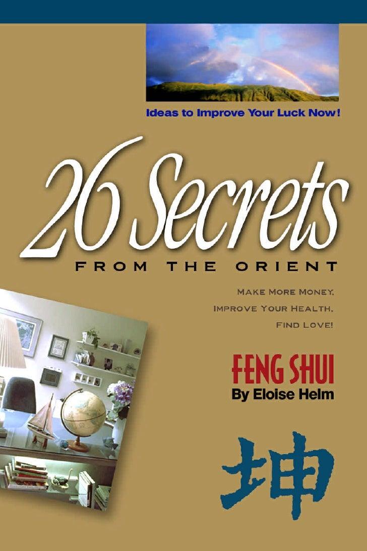 26 Secrets Of Feng Shui