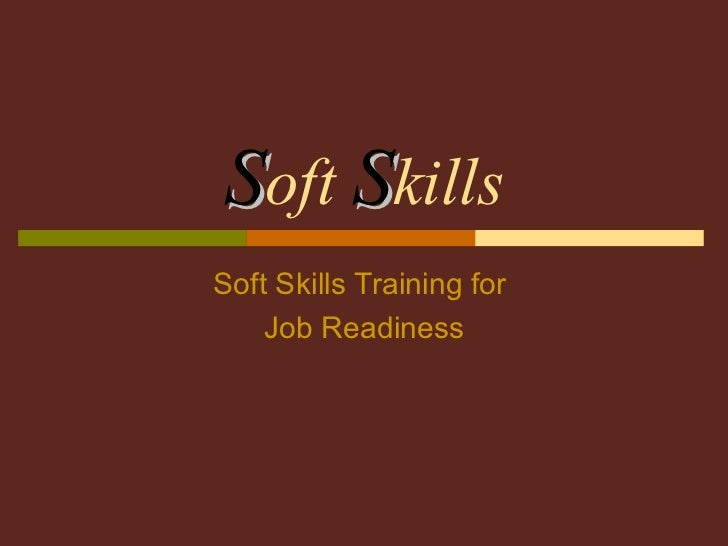 Job Training Skills Training For Job