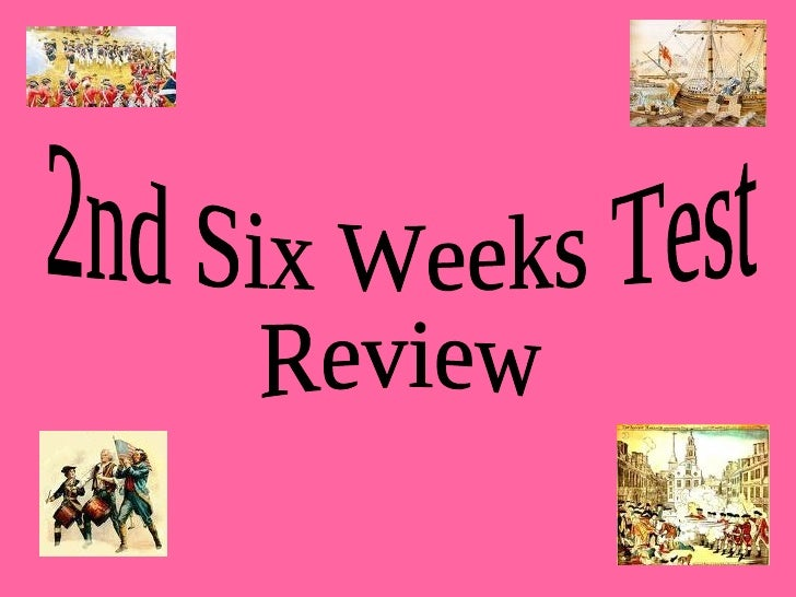 2nd Six Weeks Test Review
