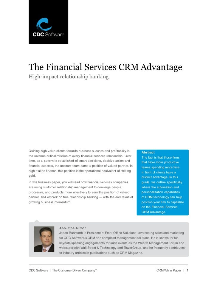The financial services crm_opportunity