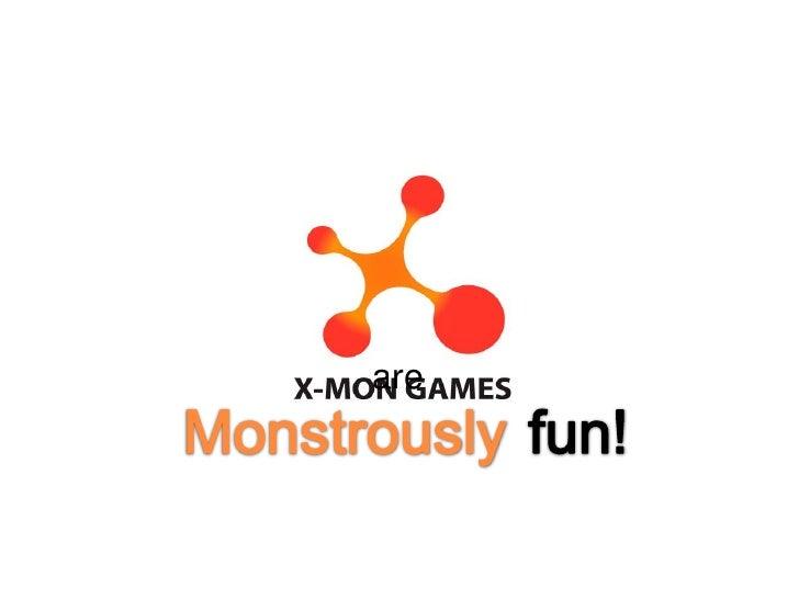 [SSS 2nd] X-MON GAMES 발표자료