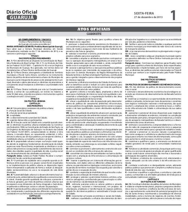 Suplemento do Diário Oficial do Dia (Parte 2) - 27/12/2013