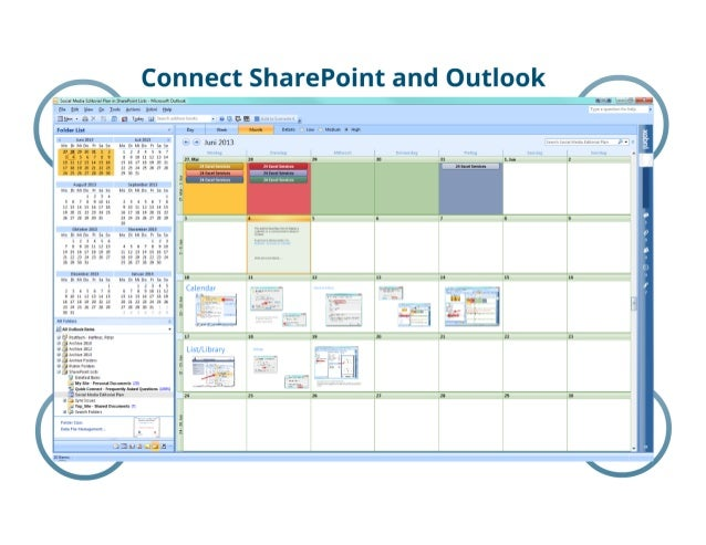 SharePoint Lesson #27: Connect SharePoint and Outlook