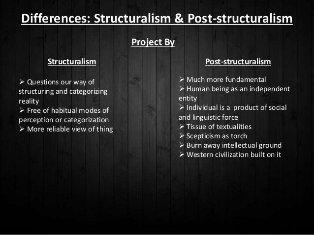 linguistics and structuralism