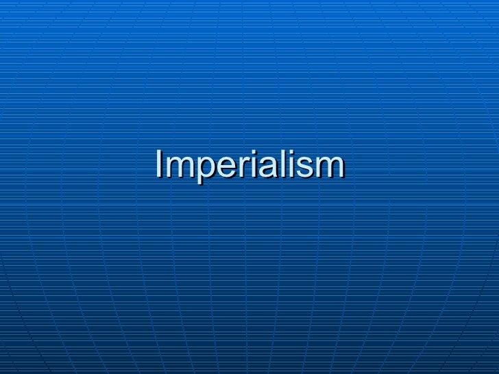 27   imperialism