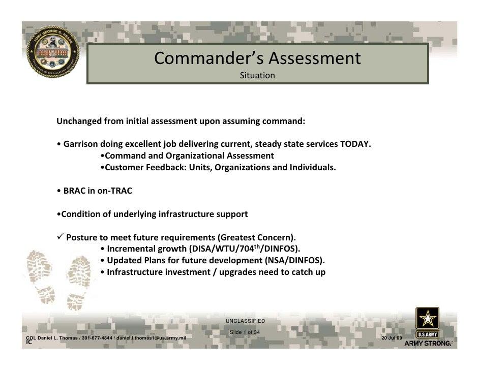 27 07 09 BRAC Subcabinet Meeting Ft Meade Briefing