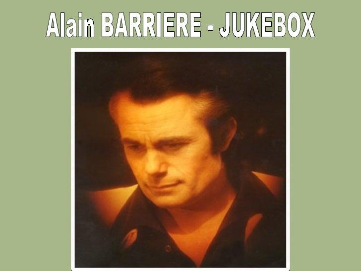 Alain BARRIERE - JUKEBOX