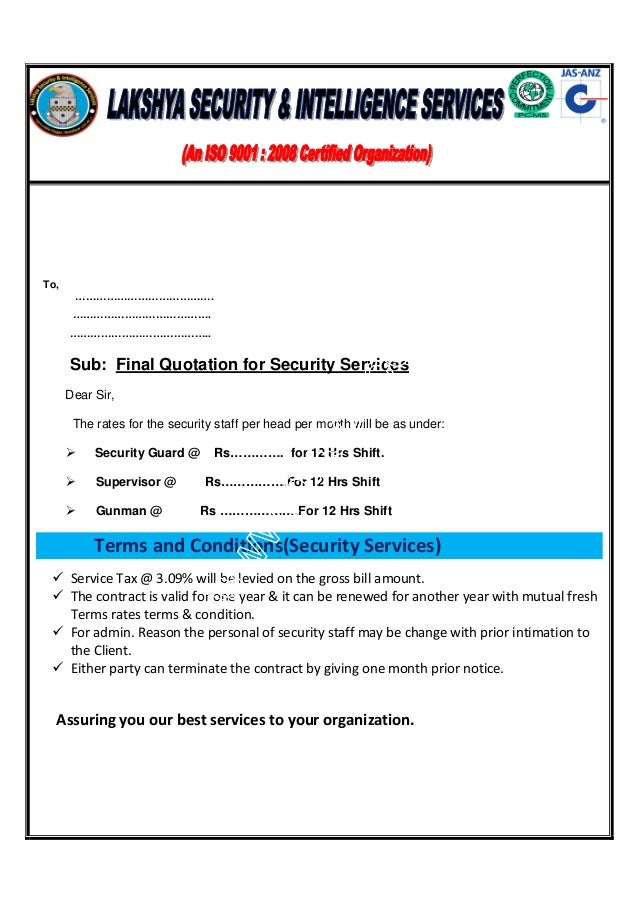 service termination letter sample