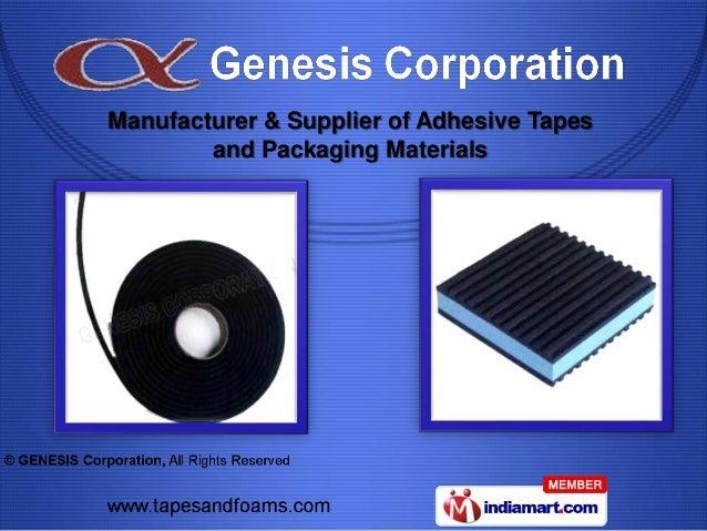 GENESIS Corporation. Tamil Nadu,India