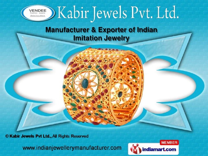 Manufacturer & Exporter of Indian       Imitation Jewelry
