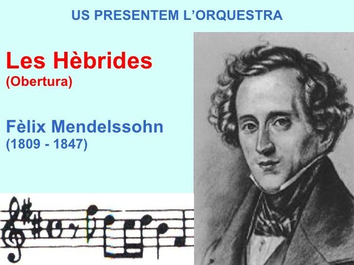 Us Presentem l'orquestra - Frederic Sesé