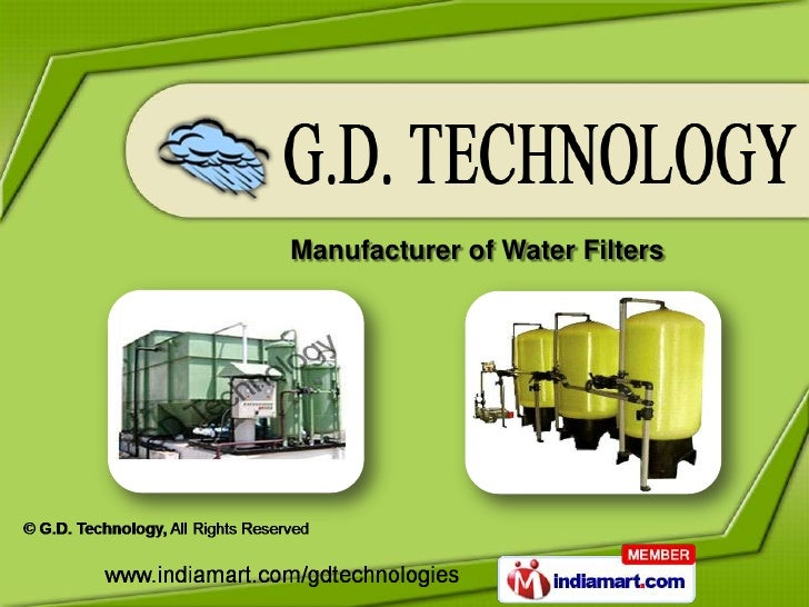 Manufacturer of Water Filters