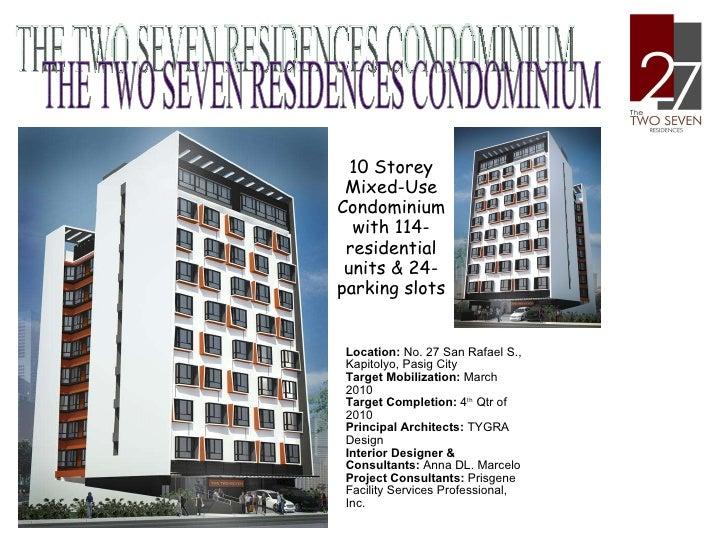 27 Residences Condo