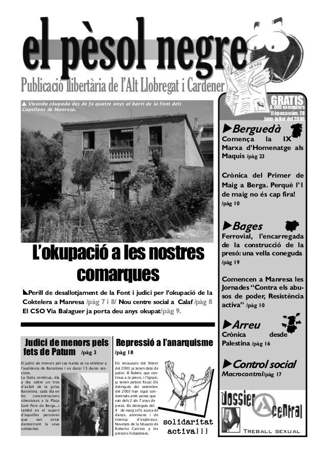 El pèsol Negre. Nº 28.Juny-juliol 2006