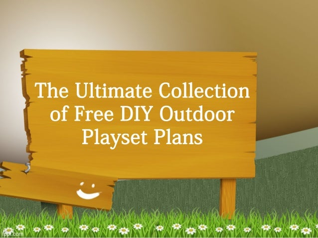 diy backyard playground plans