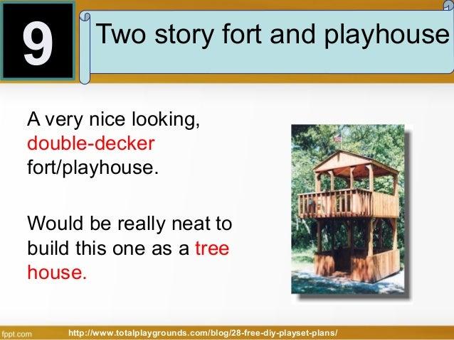 Free Diy Fort Plans