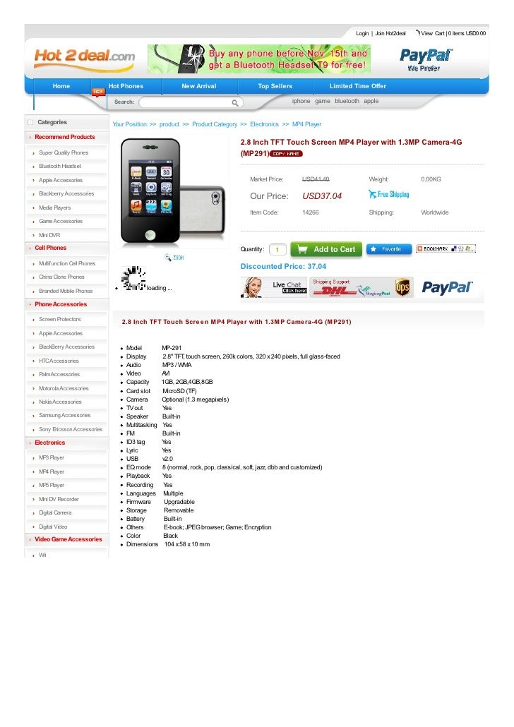 Login | Join Hot2deal   View Cart | 0 items USD0.00            Home                  Hot Phones                 New Arriva...