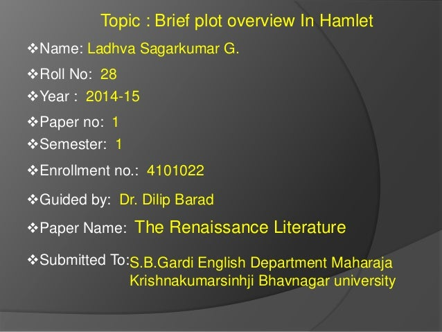 a plot review of the story of hamlet Hamlet (1996) on imdb: plot summary, synopsis, and more.