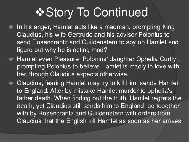 plot summary for hamlet Plot summary of the ghost of prince hamlet's father appears to the guards  claudius now devises a plot with laertes to kill hamlet in a fencing match gertrude.