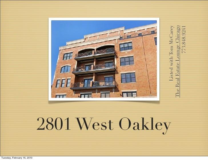 Tuesday, February 16, 2010                              2801 West Oakley                                                  ...