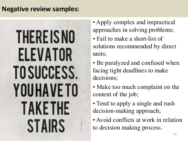 negative performance review The adobe study also showed that men had stronger reactions to negative  performance reviews than women did 4 80% of employees wanted.