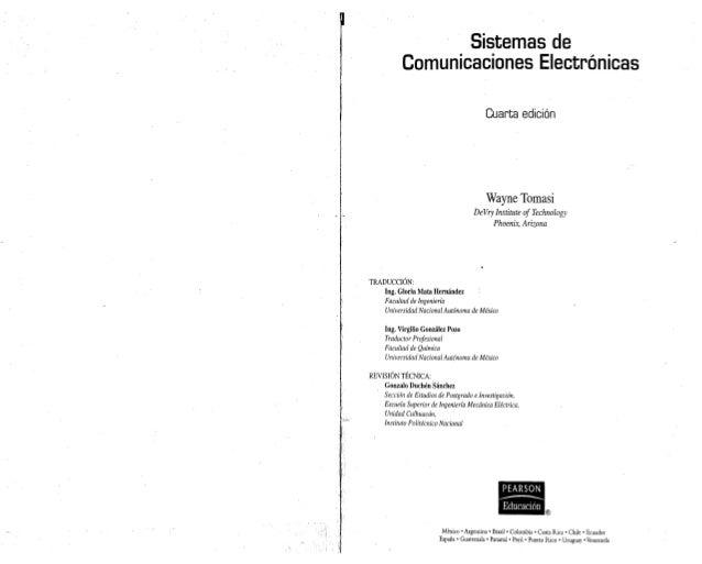 Sistemas de            Comunicaciones Electr6nicas                                          Cuarta edici6n                ...