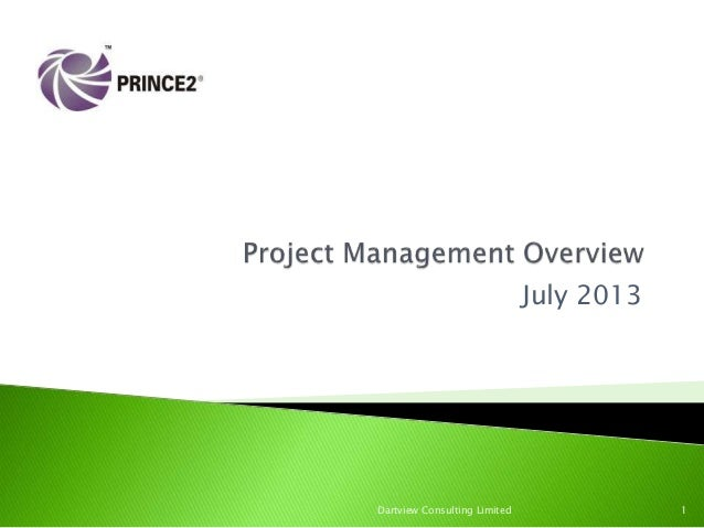 PRINCE2 Project Management Overview