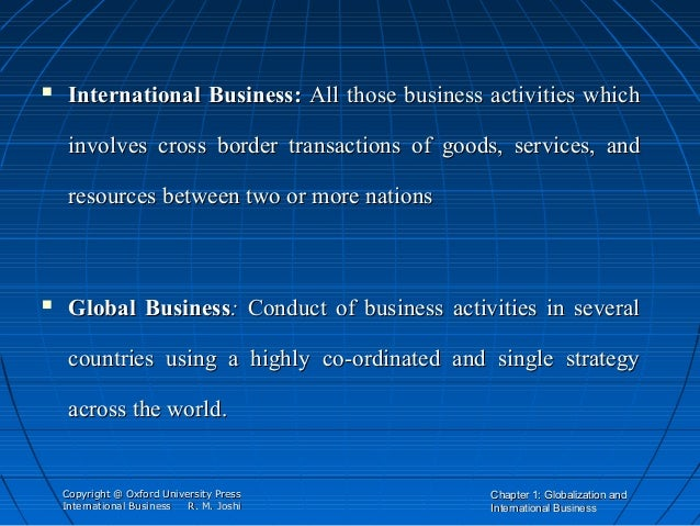 differentiate between three international marketing concepts Effects of cultural differences in international business international marketing strategy 3 in chapter two we opted different theories that are based in the.
