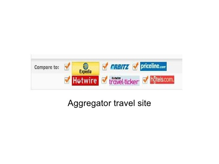 Aggregator travel site