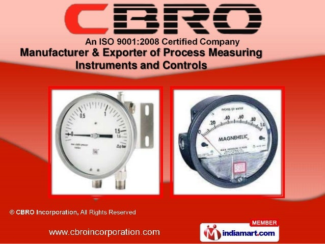 Manufacturer & Exporter of Process Measuring         Instruments and Controls