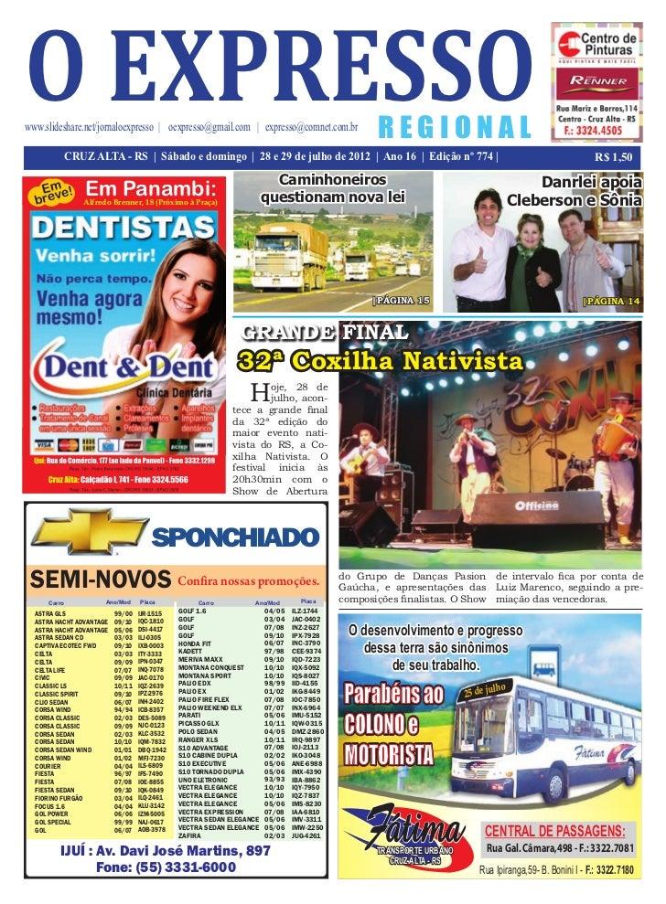 o expressowww.slideshare.net/jornaloexpresso   oexpresso@gmail.com   expresso@comnet.com.br                               ...