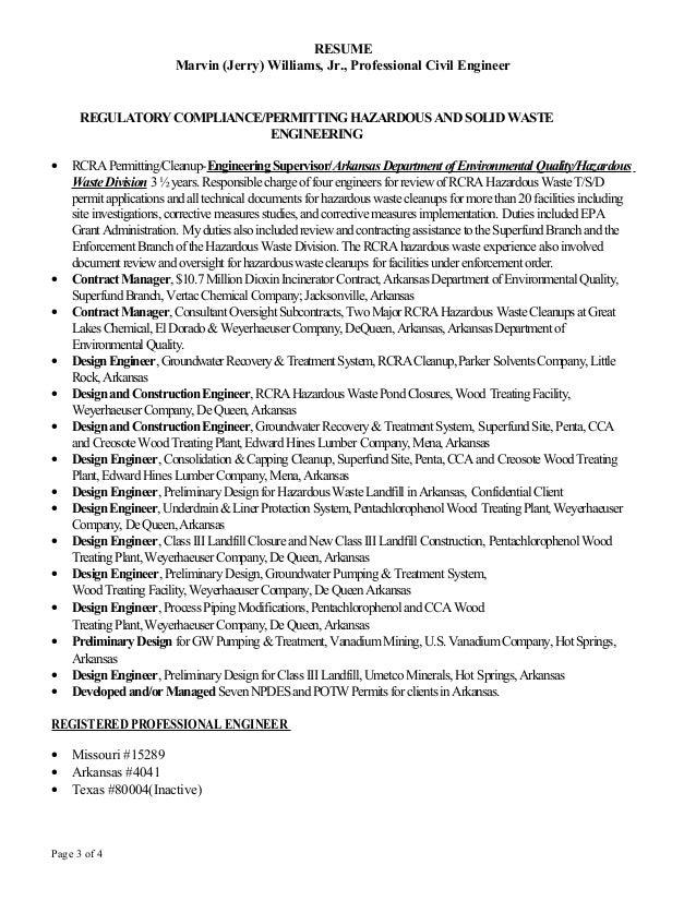 beautiful resume of environmental engineer ideas simple resume