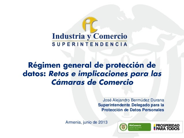 Régimen general de protección de datos: Retos e implicaciones para las Cámaras de Comercio