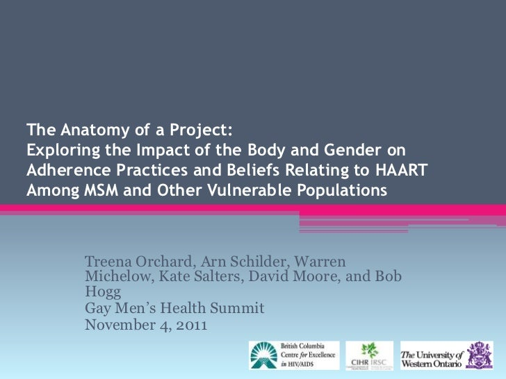 """Treena Orchard, """"The Anatomy of a Project: the Impact of the Body and Gender on Adherence"""""""