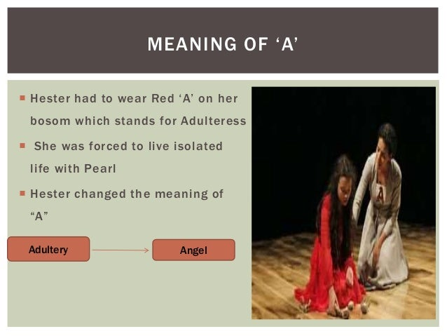 an analysis of the character of pearl in the scarlet letter Pearl is born a symbol for sin--what kind of effect does that have on her will she ever be able to overcome it.